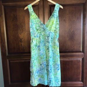 77360966 Blue Ginger Hawaiian Dress